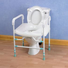 Prima Toilet Surround Collapsable With Seat