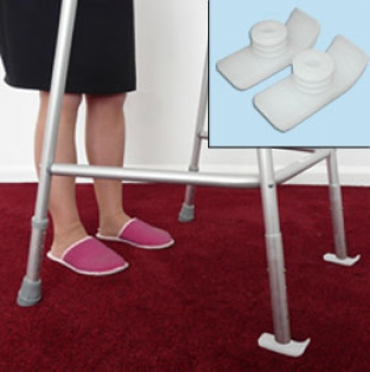 Walking Frame Carpet Glides Improves Manoeuvrability