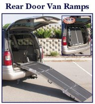 Rear Door Van Ramp for Wheelchairs and Scooters