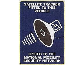 Satellite Tracker Fitted to This Vehicle
