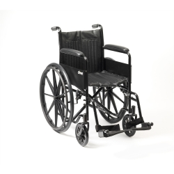 Budget Self-Propelled Folding Wheelchair