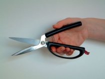 Self Opening Kitchen Scissors