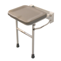 Wall Mounted Padded Folding Seat