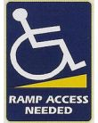 Ramp Access Needed