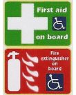 First Aid On Board - Fire Extinguisher On Board