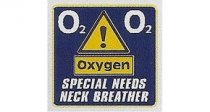 Special Needs Neck Breather O2 Oxygen