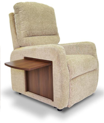 The Windsor Rise & Recline Chair With Drop Down Table