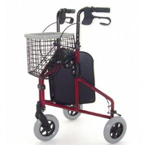 Three Wheel Aluminium Walker
