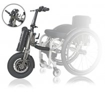 Triride Foldable Light Wheelchair Power Attachment