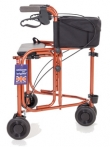Uniscan Triumph Three Wheel Walker With Seat
