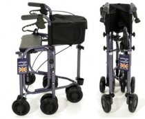 Uniscan Triumph Plus Five Wheel Walker With Seat
