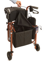 Uniscan Triumph Plus Five Wheel Walker With Seat 1