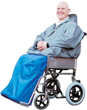 Wheelchair Kozze Kape With Sleeves