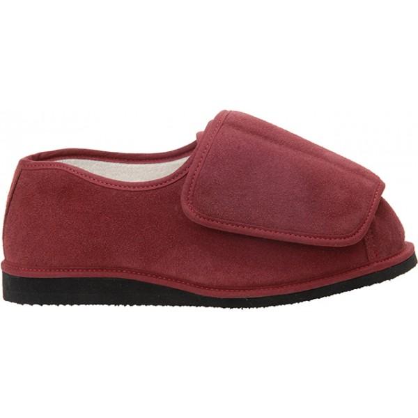 Unisex Rowan Suede Slipper / Shoe For Swollen Feet.
